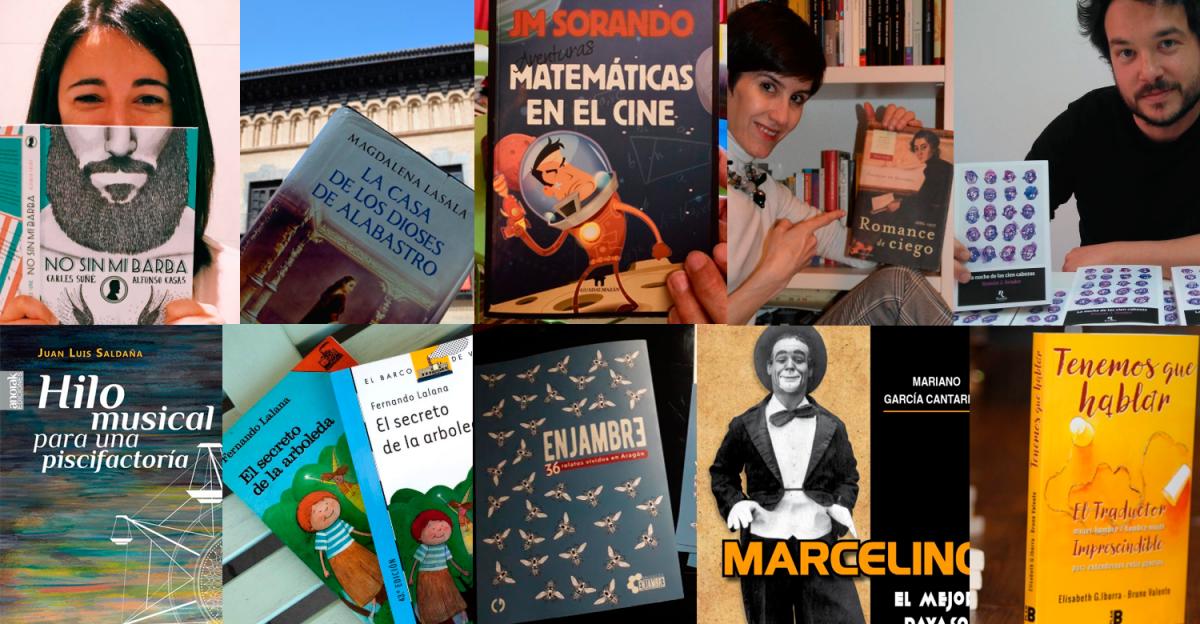 Libros 'made in Zaragoza' para descubrir el Día del Libro