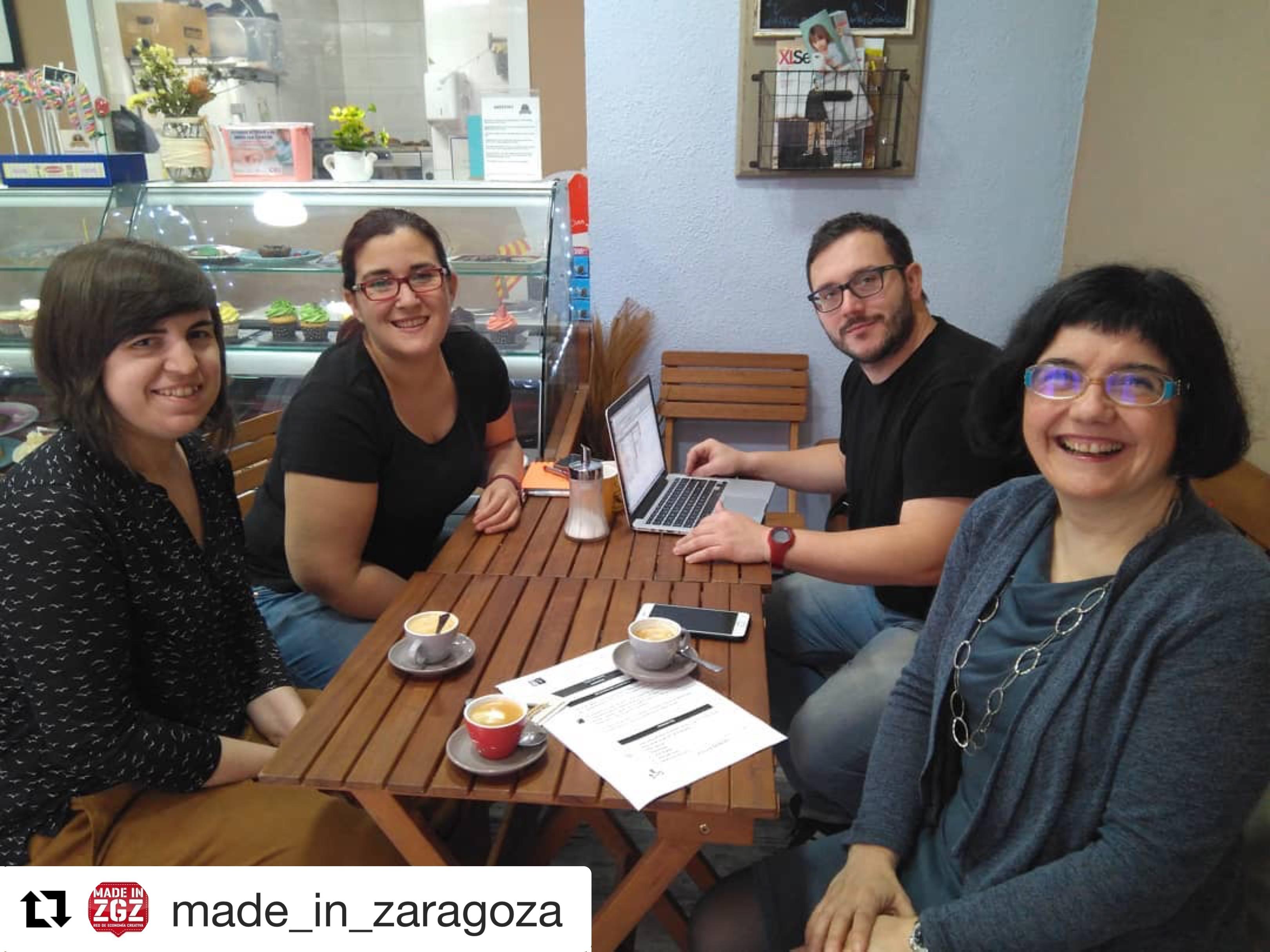 Reunión de estrategia en el MIZ Lab con Toque de Canela