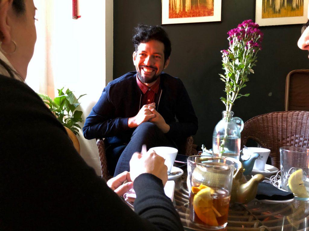 "Gerardo Maza, Director de ¡Arrea"" Magazine"
