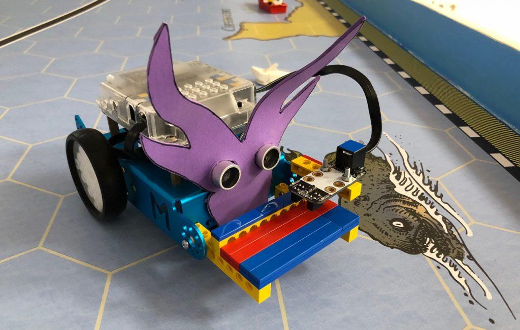 Robot tuneado por peques