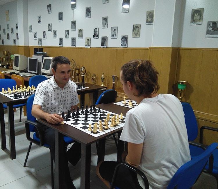 palacio pioneros academia de ajedrez