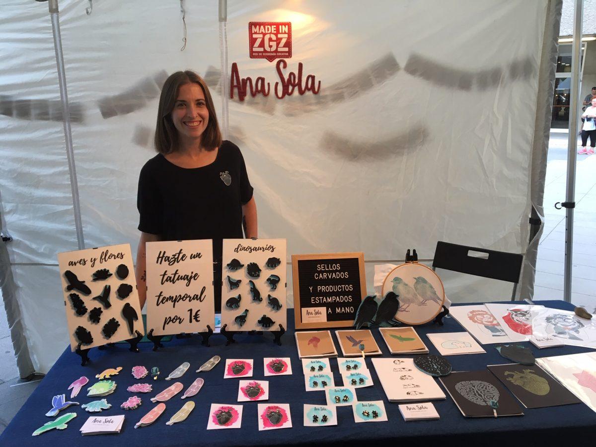 Ana Sola, creatividad y 'block printing' con estilo