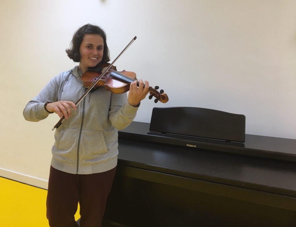 Julia, musicoterapeuta responsable de Espacio Betovi