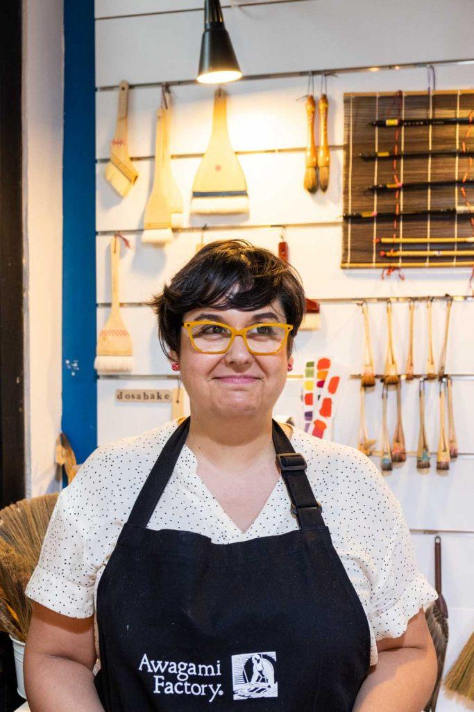 Fabiola Gil, especialista en Mokuhanga o Xilografia Japonesa