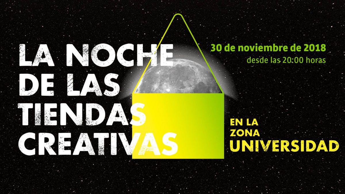 Programación de la III Edición Universidad de La Noche de las Tiendas Creativas