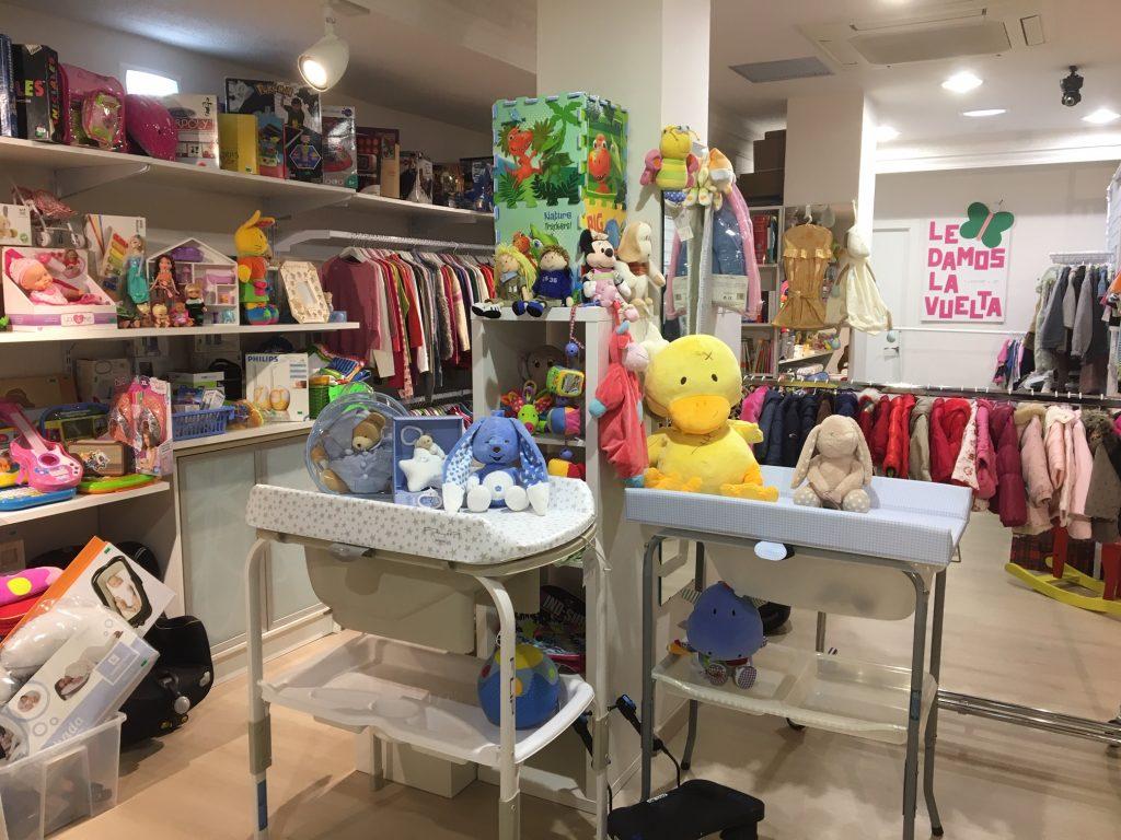 Vista de la tienda de Le damos la vuelta en la zona Universidad