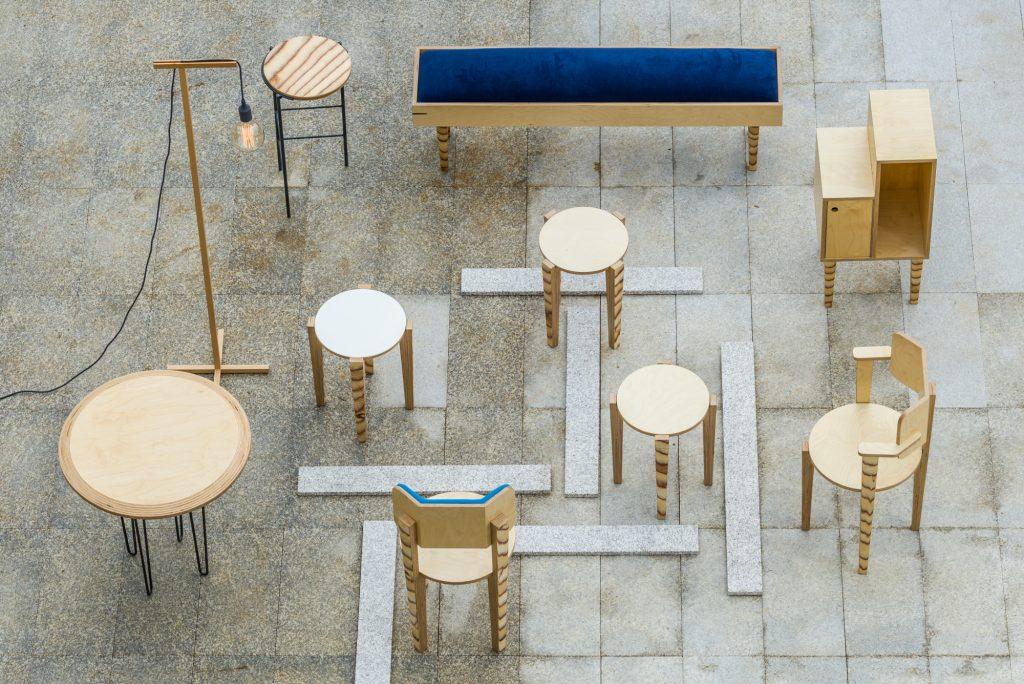 Muebles diseñados por la arquitecta María Pilar Sánchez
