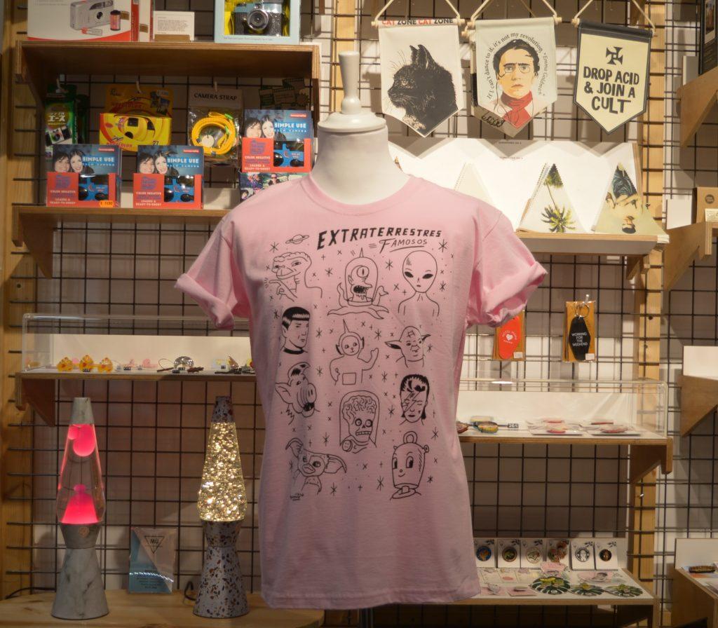Camiseta rosa Zaragoza