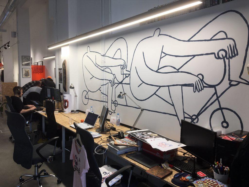 Los puestos nómadas de Recreo Coworking