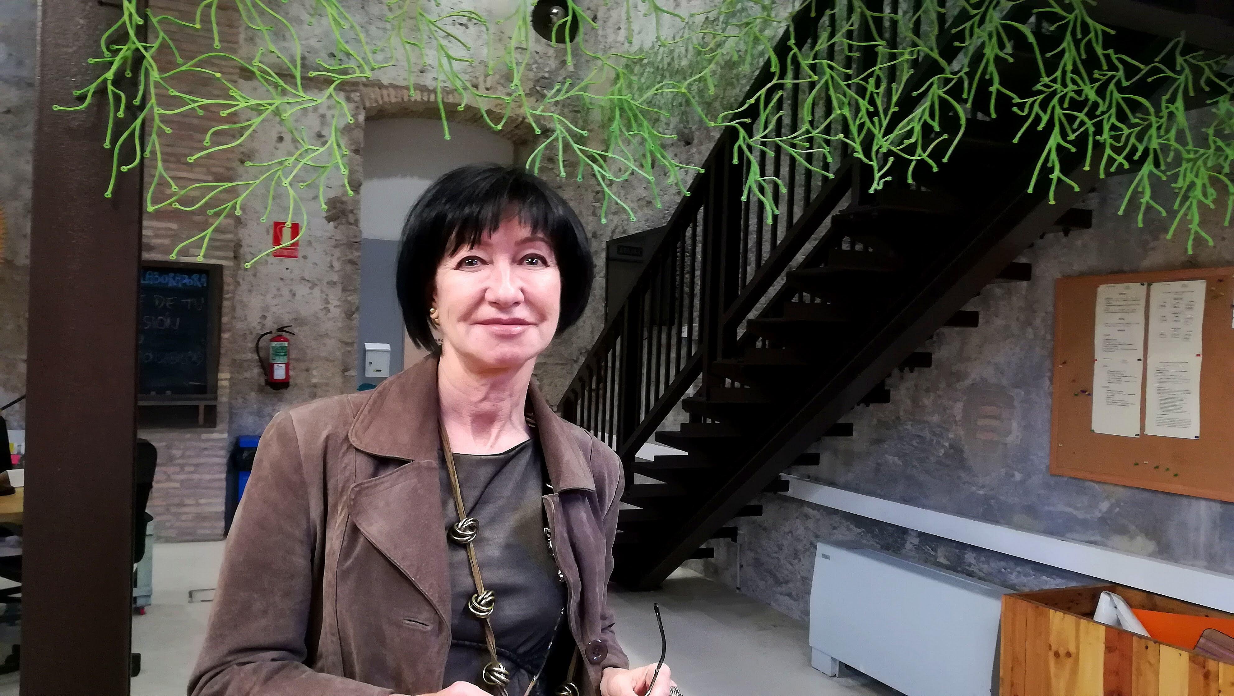 Rosa Esteban y Programa Soy Futuro