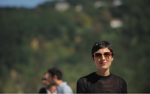 Isabel Peña posa con motivo de la presentación de 'El reino' el año pasado en San Sebastián (autor: Gari Garaialde)
