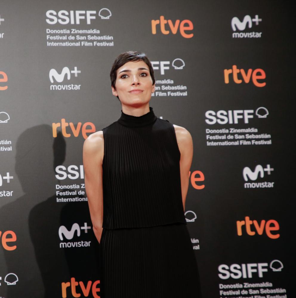 Isabel Peña, el año pasado en el Festival de San Sebastián (autor: Pablo Gómez)
