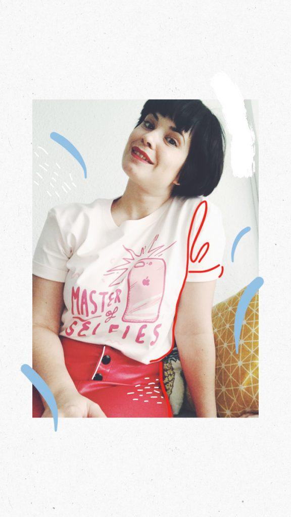 Camisetas diseñadas por Jesana Motilva para Sommes Demode