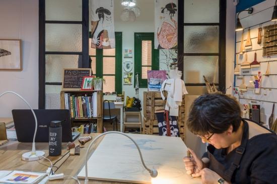 Del MI-LAB (Mokuhanga Innovation Laboratory) en Japón a MIZ-Lab en Zaragoza: Estudio Fabiola Gil