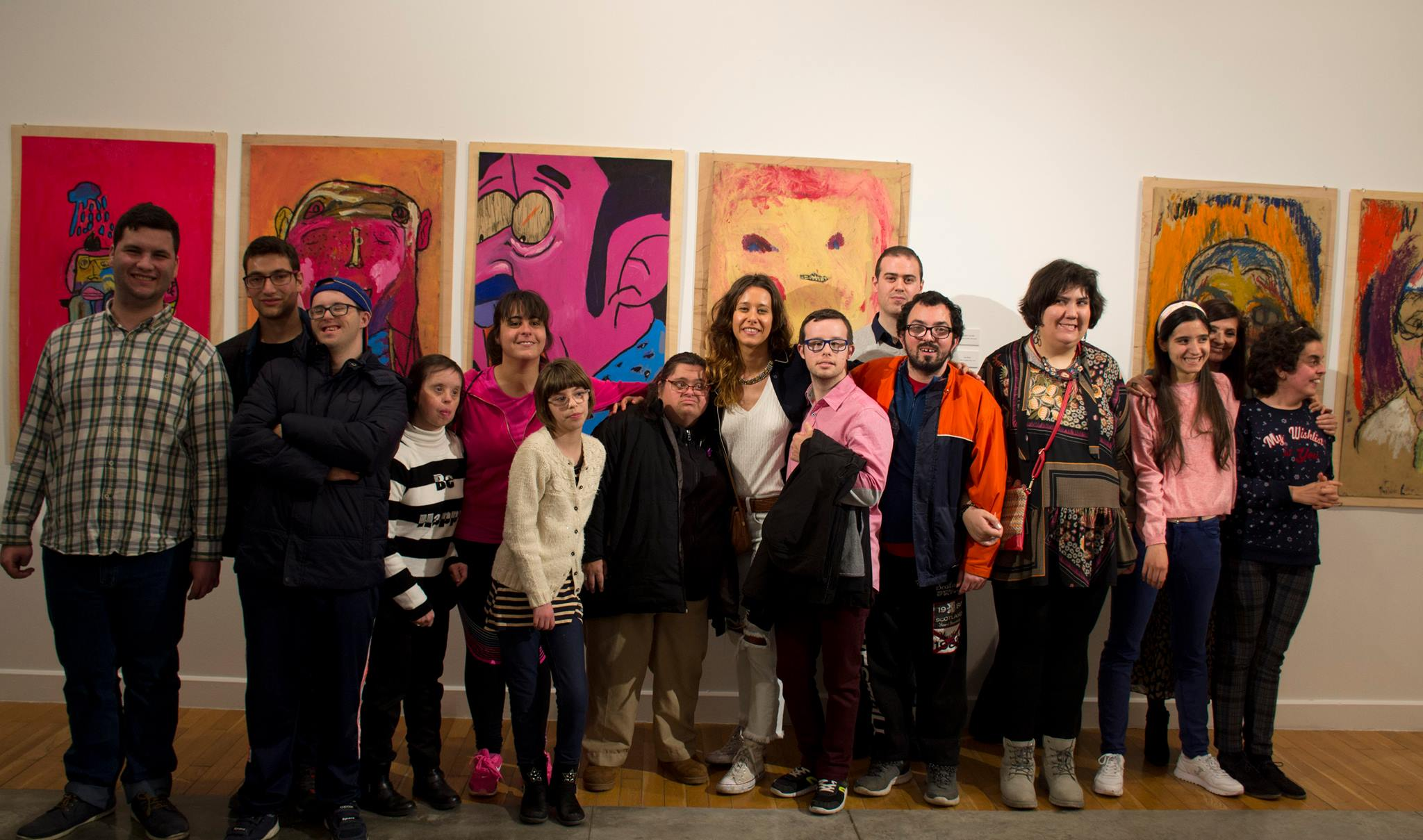 """Cristina Huarte, coordinadora del programa """"Somos Arte"""" de la Fundacion Cedes"""
