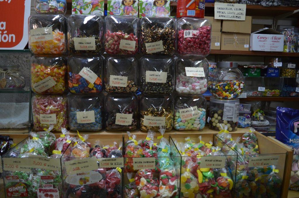 Tiendas de caramelos Zaragoza