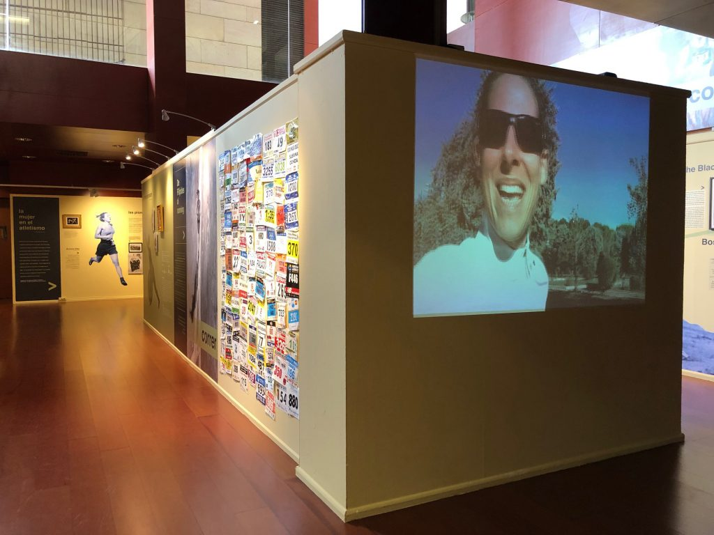 Exposición sobre el mundo de la Maratón y el running