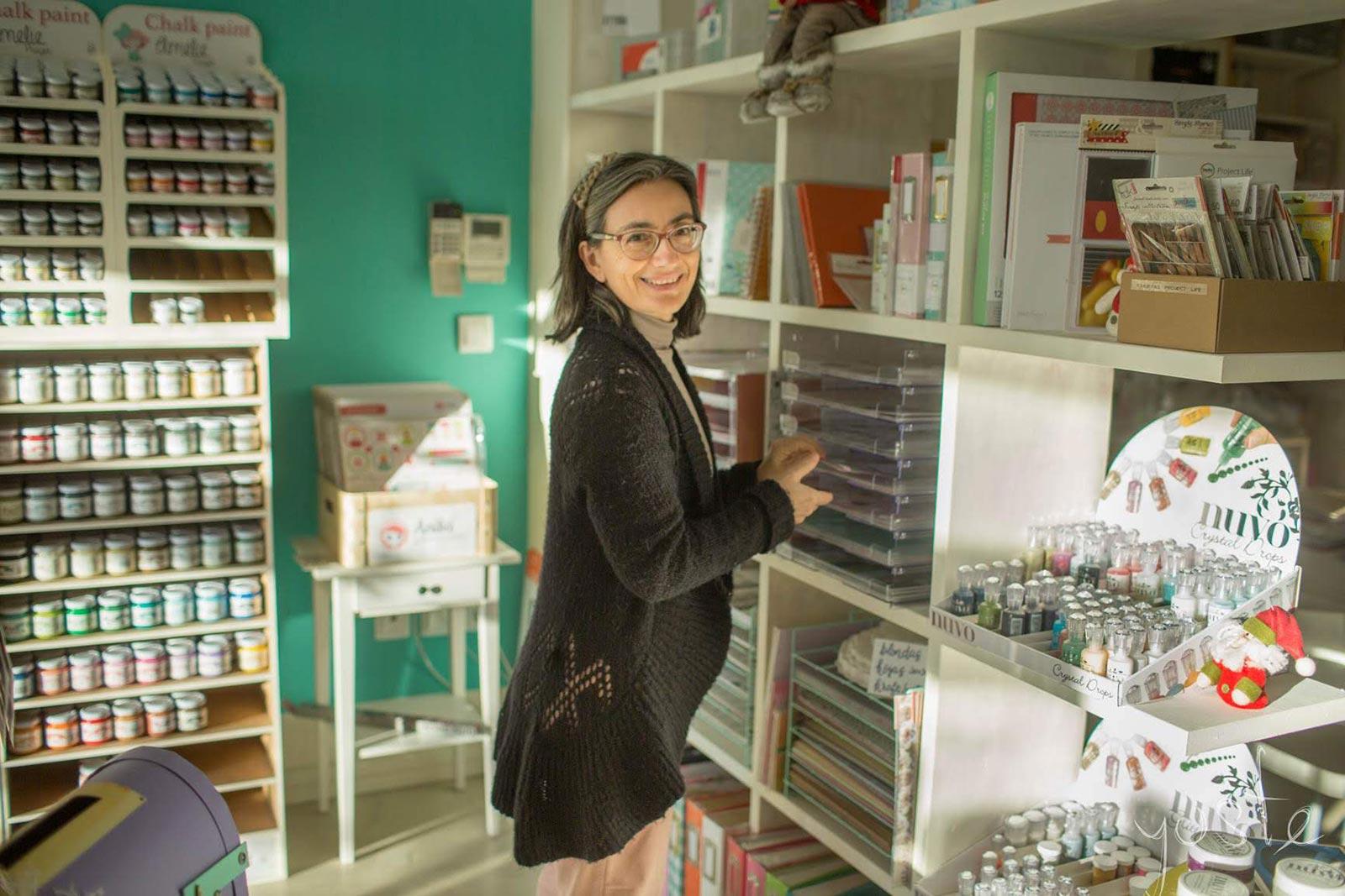 Claudia Vicente Scrapyfoto proyecto de scrapbooking en Zaragoza