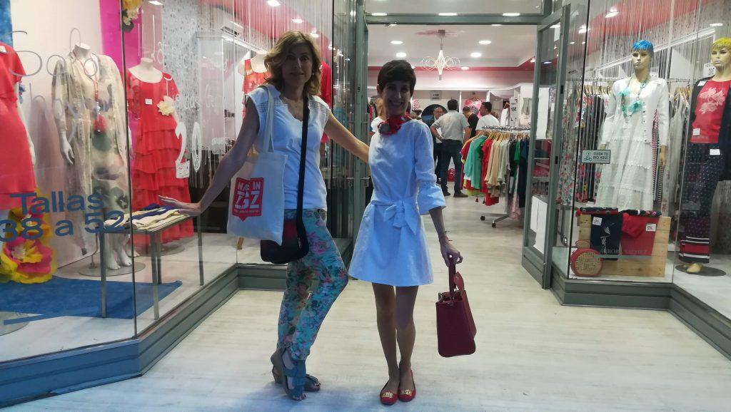 Modas Aurora Sáchez en la Noche de las Tiendas Creativas