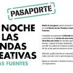 Sorteo de una cesta de regalos durante la Noche de las Tiendas Creativas de Las Fuentes 2019