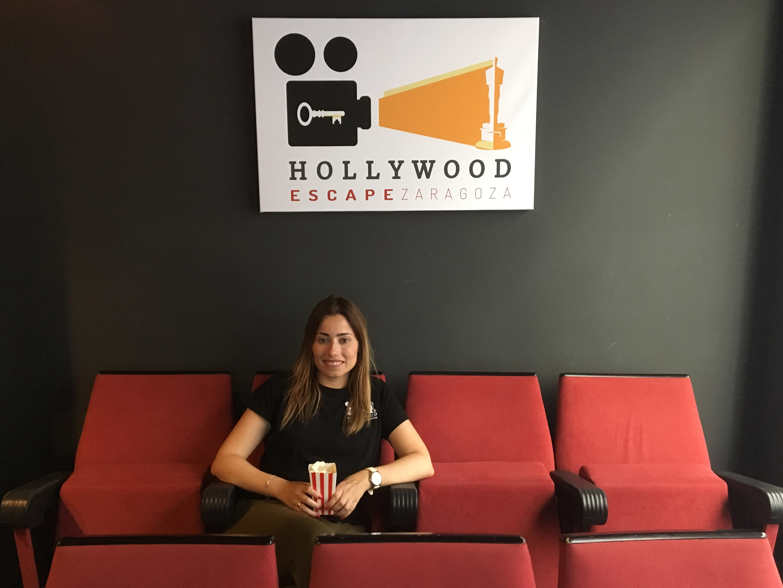 Cristina de Pedro, responsable de Hollywood Escape Zaragoza
