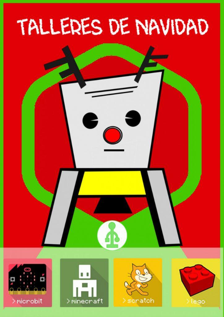 Talleres de robótica en Navidad