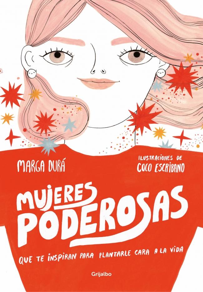 Portada de 'Mujeres poderosas', libro ilustrado por Coco Escribano
