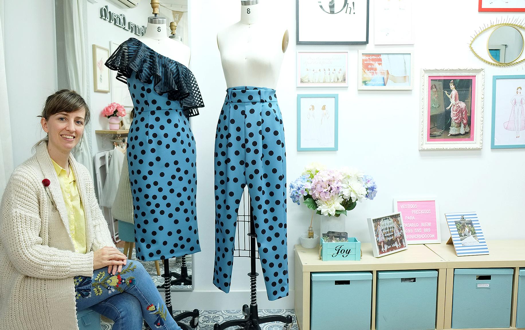 Marina Criado Diseño Vestidos de Novia Invitadas Zaragoza