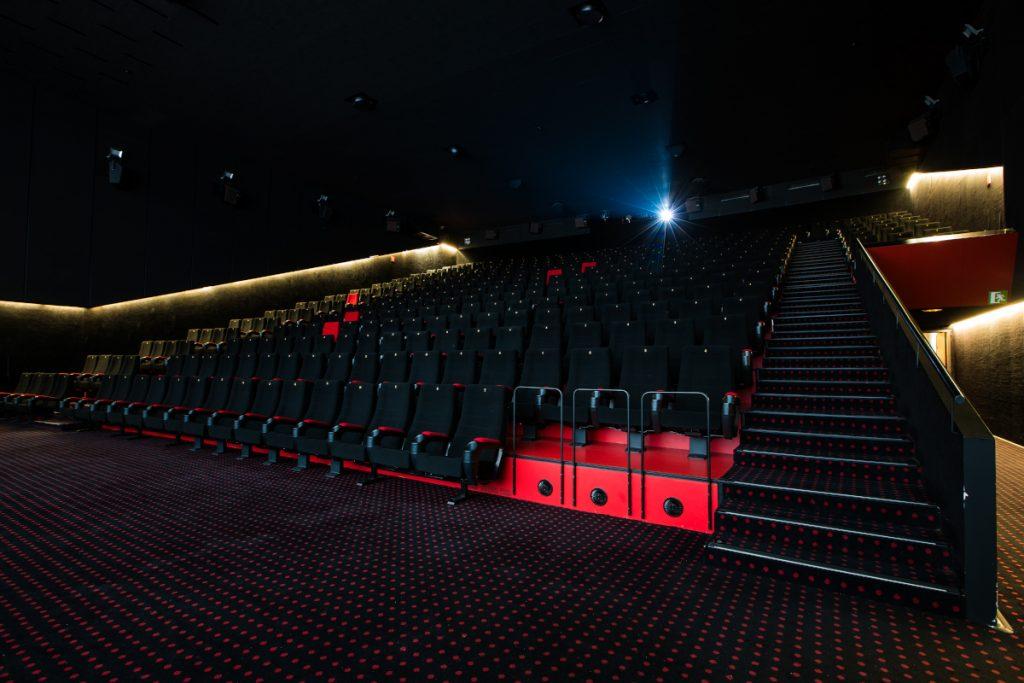Una de las salas de los Cines Aragonia