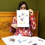 Entrevista a Lara Gómez, Laranoia, ilustraciones llenas de naturaleza y sensibilidad