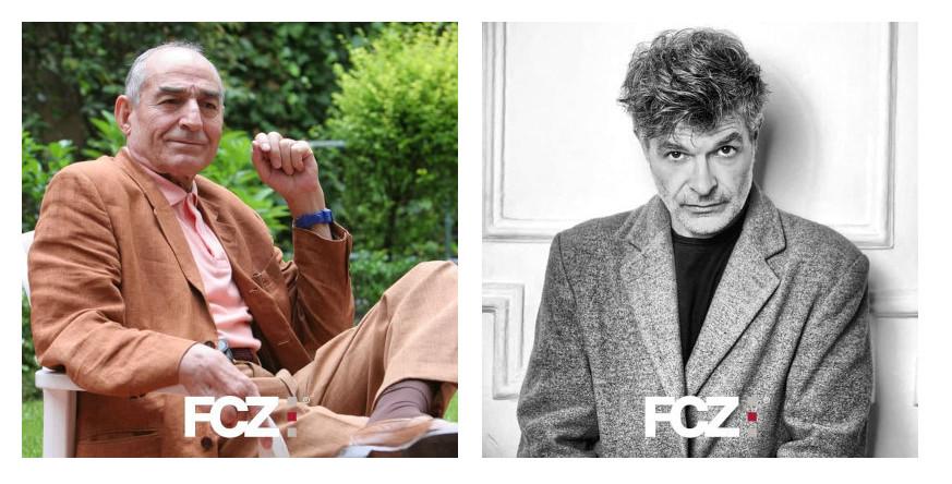 Los actores Saturnino García y Nacho Guerreros, dos de los premios Augusto del 25 FCZ