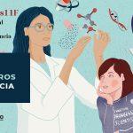 Escaparates 11F 2021: tres encuentros digitales con mujeres científicas de referencia