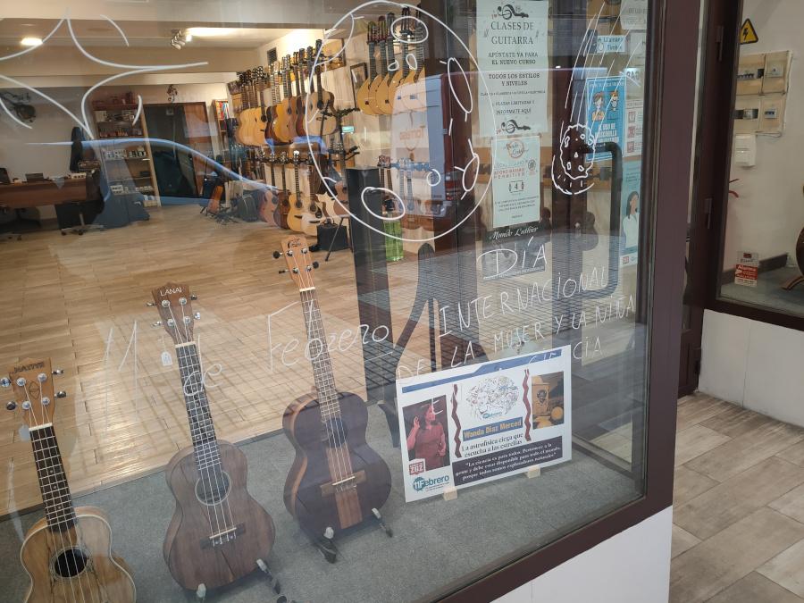 El escaparate de Mundo Luthier