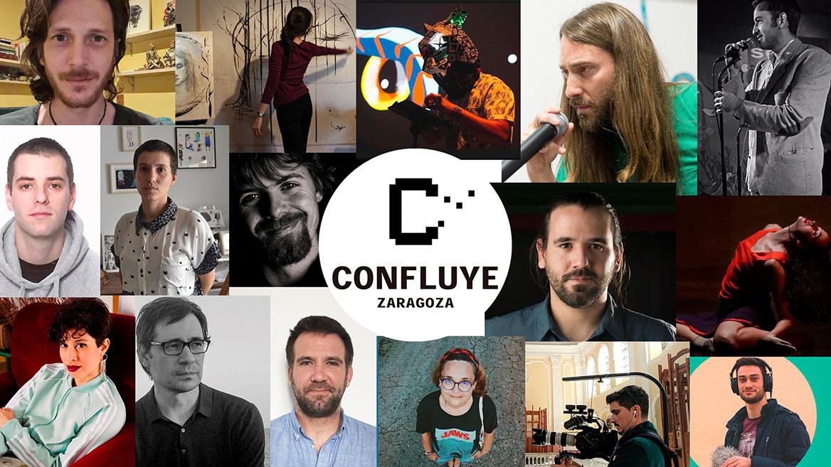 Confluye Zaragoza, un documental web sobre el proceso de creación