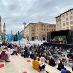 Cultura al raso en Zaragoza.