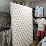 Domingo Lázaro, el oficio de tapicero y los muebles para toda la vida